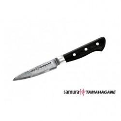 Нож кухонный стальной овощной Samura Tamahagane ST-0010