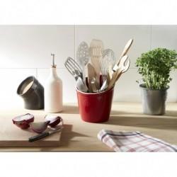 Стакан для кухонных предметов и аксессуаров Emile Henry, цвет гранат