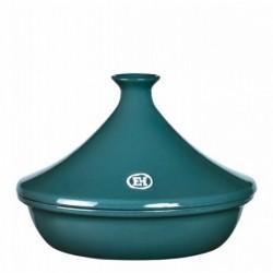 Тажин керамический Emile Henry серо-голубой 2 литра 27 см