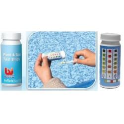 Тестовые полоски (50шт) 3 в 1 (свободный хлор, рН, общая щелочность)