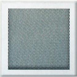 Решетка вентиляционная белая 20х20 без жалюз.DL-20