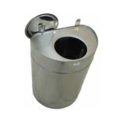 Бак для теплообменника 70л (нерж)