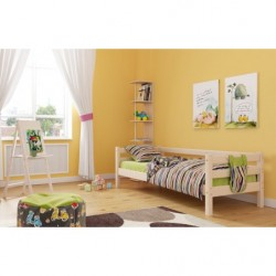 """Кровать """"Соня"""" (вариант №2) цвет: лаванда, массив березы"""