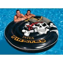"""58291 Intex Круг-лодка 188см """"Пиратский остров"""""""