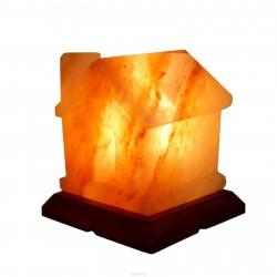 Декор- обработ. соляная лампа Домик с диммером