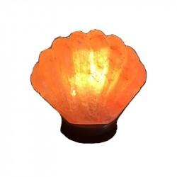 Декор- обработ. соляная лампа Ракушка с диммером