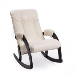 Кресло-качалка Модель 67, экокожа Дунди