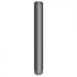 Труба к печи 1 м (3мм)