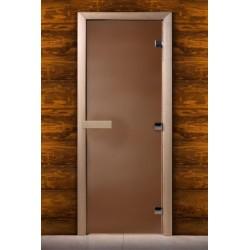 Дверь, бронза матовая 1900*700 (ольха)