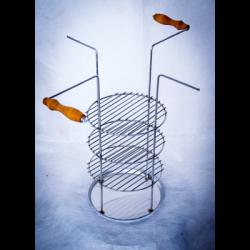 Тарелка-решетка 4х-ярусная