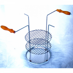 Тарелка-решетка 3х-ярусная