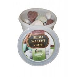 Микс Премиум (яшма, кварц, жадеит) (15кг)