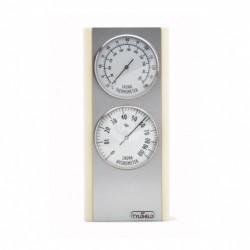Термогигрометр TYLO BLOND (осина/алюминий)