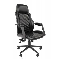 Кресло офисное Chairman экопремиум черный