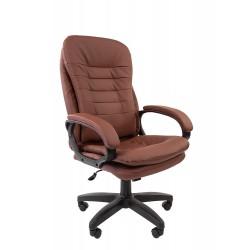 Кресло офисное Chairman (коричневй)