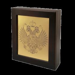 Ключница - шкафчик с гербом России