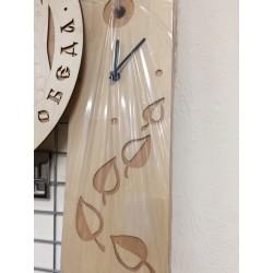 """Часы """"С листочками"""""""