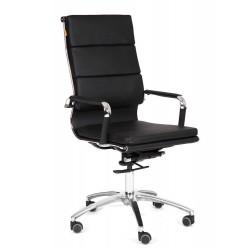 Кресло офисное Chairman экопремиум черное