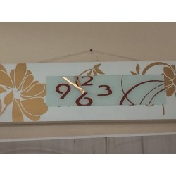 18459 Настенные кварцевые часы (декор-стразы)