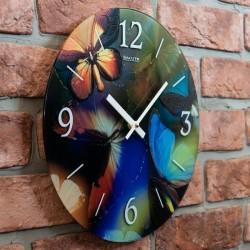 Часы настенные С-1Б-901 Бабочки2
