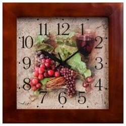 Часы настенные ГРОЗДЬЯ ВИНОГРАДА