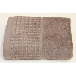 Полотенце Carrara 70*140 (коричневый)