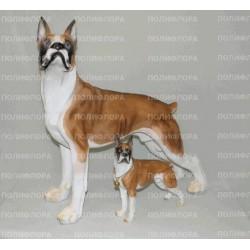K093027 Собака Боксер 50 см