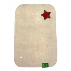 104722 Коврик д/сауны Знамя белый