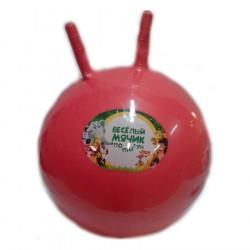 Мяч-попрыгунчик красный 55см