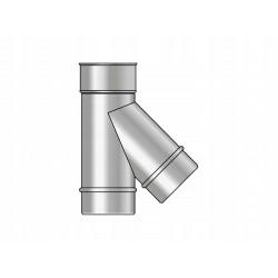 Тройник 120 45 гр. 1,0 мм