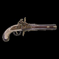 """Пистоль """"Роловер"""" Англия 1750г"""
