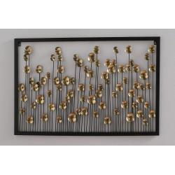 Настенный декор Floris 97*65см