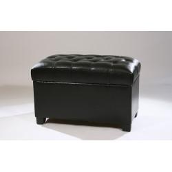 Банкетка (черн/ иск.кожа)