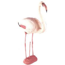 Фламинго, муляж пластиковый 81см