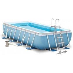Бассейн каркасный 300*175*80 + фильтр, лестница