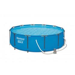 Бассейн каркасный 305*100 + фильтр-насос