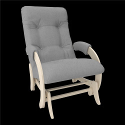 Кресло-гляйдер мод.68 (Натур.дер. шпон, ткань Montana)