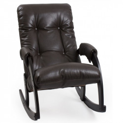 Кресло-качалка мод. 67 (Венге эк/к Орегон)