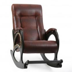 Кресло-качалка мод. 44 (Венге, эк/к Антик)
