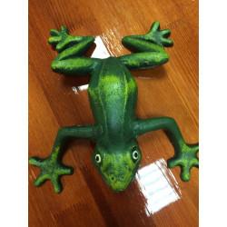 Лягушка декоративная из чугуна