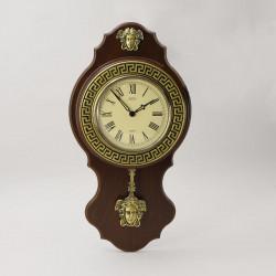 """Часы настенные с маятн. """"Версаче"""""""