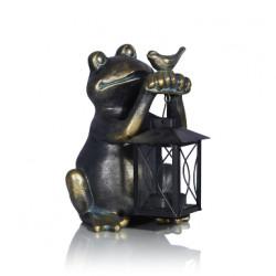 Фигурка лягушки с фонарем Tarek