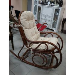 Кресло-качалка MILANO (орех)