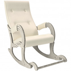 Кресло-качалка мод.707 (Дуб/шампань, к/з Polaris)