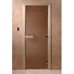 Дверь, бронза матовая 1800*700 (ольха)