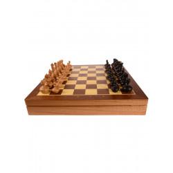 Шахматы Woodgames, махагон