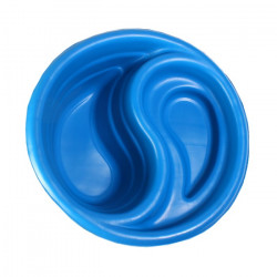 Пруд пластик 80л синий