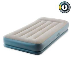 Надувная кровать  99*191*30 с подголовом, встр. насос 220В