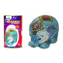 """03 Мозаика волшебная мастерская """"Слон"""""""