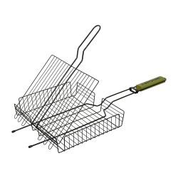 Решетка-гриль  универс, антипригарным покр.+ веер в подарок